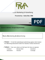 Ratto Marketing & Advertising Presentation
