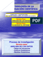 Investigación Científica (9 y 10 Paso)