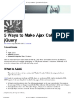 5 Ways to Make Ajax Calls With jQuery _ Nettuts+