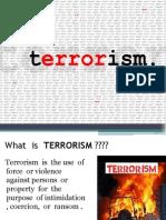 3 PPT of Terrorism
