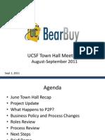UCSF Town Hall Meetings Aug-Sep 2011 v10