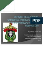 Radiologi Respiratory