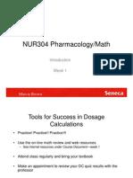 Intro Dosage Calculations Sn