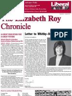The Elizabeth Roy Chronicle