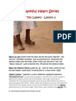 The Ten Lepers Kidz Worship Lesson 2