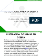 Servidor Samba en Debian