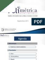 Resultados Electorales Cifras y Conceptos Bogotá Septiembre 2011