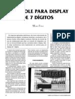 Control Display 7 Digitos