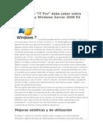 windows7 y winserver2008