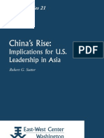 China's Rise - Implications for US Leadership in Asia