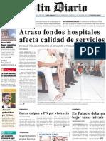 Primera Plana Listin Diario 27-09-2001