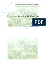 Pagos por Servicios Ambientales, por el Ing. MSc. Vladimir Valera