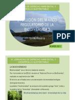 Evolución del Marco Regulatorio de la Biodiversidad, por el Abog. Lucas Riestra