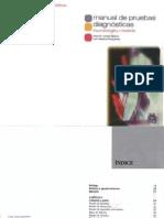 Manual de Pruebas Diagnostic As - Traumatologia y Ortopedia