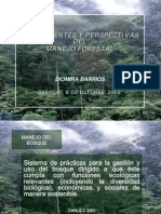 Antecedentes y Perspectiva Del Manejo Forestal Vzla. Barrios, D. Asoinbosques