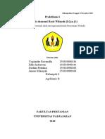 Analisis ekonomi Basis Wilayah (LQ,α, β )