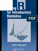 Usig R for Introductory Statistics