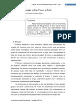 Texto Base Forum e Chat