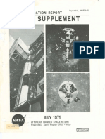 Mission Operaton Report Apollo Supplement July 1971
