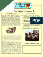 Parents Newsletter - Week 2