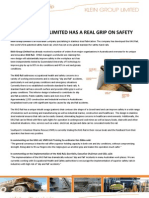 Klein Group Limited Has a Real Grip on Safety