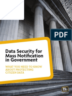 11 Blackboard Connect Data Security
