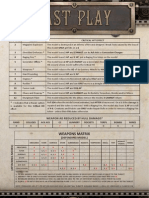 Dystopian Wars Fast Play Sheet Print Quality