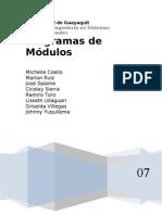 Diagrama de Modulos