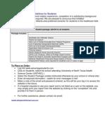 InfoMart Advantage Students Instructions