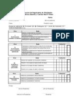 Evaluación de Seguimiento Residentes II