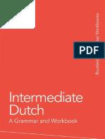 Dutch Intermediate - A Grammar and Workbook