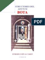 Bota - Introduccion Al Tarot [Curso 2]