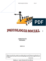 UNISUAM-- Psicologia Social- Apontamentos -Parte 1- 2011.2