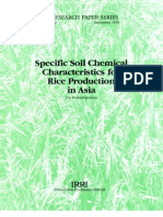 IRPS 2 Specific Soil Chemical Characteristics for Rice Production in Asia