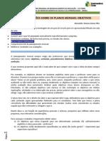 CONSIDERAÇÕES SOBRE OS PLANOS MENSAIS_objetivos
