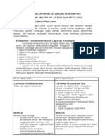 Penyajian Laporan Keuangan Pemerintah
