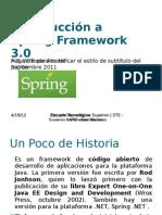 Introducción a Spring Framework 3