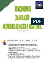 antimicrobianos clasificacion