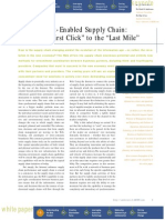 The Internet-Enabled Supply Chain