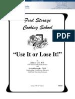 Food Storage Cooking School 503
