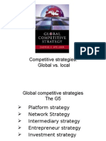 The Strategy of Int Business
