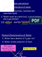 5.1water and Solution