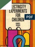 Experimentos de Electricidad para niños by enigma