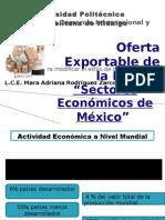 Sectores cos de Mexico
