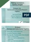 Strategy Sensory and Instrumental