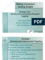 Strategy Sensory and Instrumental