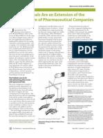 Big Pharma use Medical Journals for marketing  (2005)