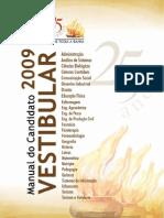 Edital Uneb e Manual Do Candidato 2009