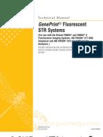 GenePrint Fluorescent STR Systems Protocol