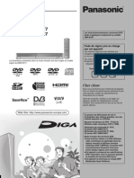 Panasonic DMR EX 77 EC1 Manuel FR